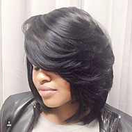 New Bob Haircut Capless Human Hair wigs For Black Women Spring 2017
