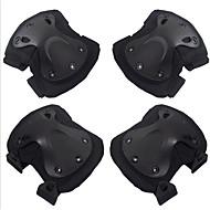4 шт черный ястреб протектор CS Outdoor езда Kneepad локоть скобка комплект вспомогательного оборудования мотоцикла