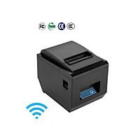 80mm termiske trådløs printer todimensional kode stregkode pos-8250wifi med cutter