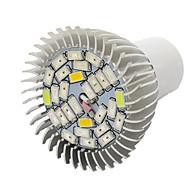 10W E27 LED-drivhuslamper 28 SMD 5730 800 lm Varm hvit Rød Blå UV V 1 stk.