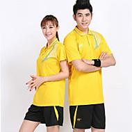 Set di vestiti/Completi-Badminton-Unisex-Traspirante Comodo-Giallo Bianco Blu Arancione