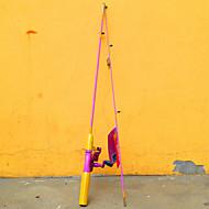 Fishing Rod Spinning Rod FRP 152 M General Fishing Rod Pink-Barbie