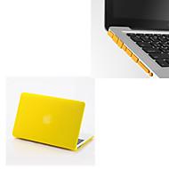 """solide farger matt full body hard sak med støv plugg for MacBook Air 13.3 """"(assorterte farger)"""