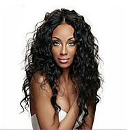 Full Lace  Wig Brazilian Virgin Human Hair Water Wave Wig For African American Women