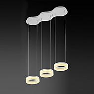 Riipus valot ,  Moderni Maalaus Ominaisuus for LED Minityyli Metalli Living Room Ruokailuhuone Työhuone/toimisto Pelihuone Käytävä