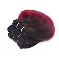 Υφάνσεις ανθρώπινα μαλλιών Βραζιλιάνικη Κυματομορφή Σώματος 3 Κομμάτια υφαίνει τα μαλλιά