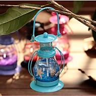 Aladdins Licht Leuchter Retro Laterne Metall-Handwerk zu Hause Restaurant romantisches Candlelight-Dinner Lampen Kerzenhalter Dekor ramdon
