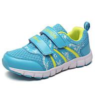 לבנות-נעלי אתלטיקה-PU-נוחות-ורוד ציאן ורוד ורד-יומיומי-עקב שטוח