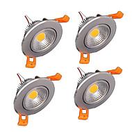 4ks z®zdm 6watů 400-500lm podpora stmívatelné klasu LED stropní svítidla LED receseed světla (220)