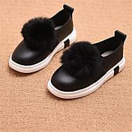 Za djevojčice Ravne cipele Udobne cipele PU Ležeran Crna Crvena