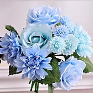 1 Une succursale Plastique Autres Roses Fleurs artificielles 20*20*30
