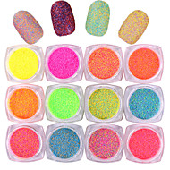10pcs 5G Bottled Sugar Powder New Japanese Sugar Powder Mixed Color Rainbow Powder