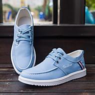 Sneaker-Lässig-Leinwand-Flacher Absatz-Leuchtende Sohlen-Blau