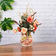 1 şube Kurutulmuş Çiçek Masaüstü Çiçeği Yapay Çiçekler