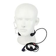 m elastisk hals vibrasjon hodetelefoner med mikrofon for gp3688 gp88 tc500s og andre med samme port med en ørepropp