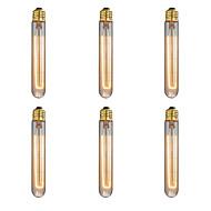 6pcs / lot E27 40w edison lâmpada lâmpada retro luz incandescente lâmpada do vintage (220-240V)