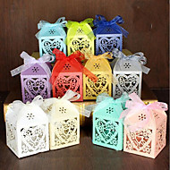 100 Stück / Set Geschenke Halter-Pyramide Perlenpapier Geschenkboxen Geschenk Schachteln Nicht personalisiert