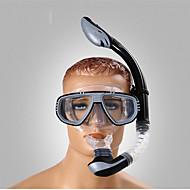 Snorkelpakker Ingen verktøy er nødvendig Dykking og snorkling PVC Blå Svart