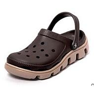 Γυναικεία παπούτσια-Σανδάλια-Καθημερινό-Επίπεδο Τακούνι-Άλλο-PVC-Μαύρο Μπλε Καφέ Κίτρινο Πράσινο Ροζ Κόκκινο