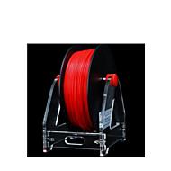 P802 Practical Prusa Mendel i3 LCD Display 3D Printer DIY Desktop Starter Bundle Kits Support Windows XP 7 Mac - (US Plug AC 100 - 240V) - BLACK 1
