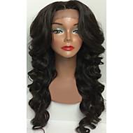 liimattoman neitsyt hiukset Nyörilliset hiuksista peruukit aalto mustan naisen kehon aalto peruukki kanssa vauvan hiukset