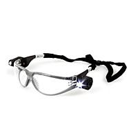 3m 11356 anti-stød beskyttelsesbriller ultraviolet / anti tåge / med justerbar lommelygte