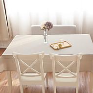 Square Gingham Table Cloth , Linen / Cotton Blend Material Table Decoration 1/set