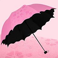 Sateenvarjohattu Aurinkoinen ja sateinen Ruostumaton teräs tekstiili Matkailu Rouva Miehet