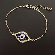 Bracelet Chain Bracelet Alloy Evil Eye Natural Gift Jewelry Gift Blue,1pc