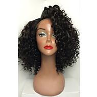 HOT!! Short Brazilian Virgin Hair Full Lace Wigs Human Hair Wigs With Baby Hair 8-30 Curly Full Lace Wigs