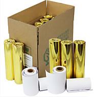 57 * 30 χιλιοστά χειρός μηχάνημα POS χαρτί εκτύπωσης θερμικής μικρό εισιτήριο 36 όγκους / κουτί