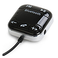 bt760 Auto Bluetooth-Audio-Empfänger Bluetooth FM Transmitter Autotelefon Bluetooth eingebautes Mikrofon