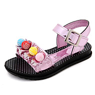 Girl's Sandals Spring Summer Fall Comfort Rubber Outdoor Athletic Casual Low Heel Pink Silver Gold Walking