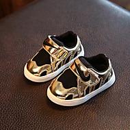 תינוק-שטוחות-בד-נוחות-זהב כסף-שטח יומיומי-עקב שטוח