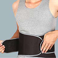 Lumbar Belt/Lower Back Support / Stretch Bandage Sports Support Muscle support / Protective Fitness Black