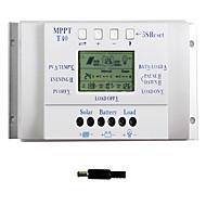 40A의 LCD는 태양 광 충전 컨트롤러 12V 및 24V 자동차는 듀얼 타이머 Y-태양 T40 전환