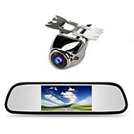 """4.3 """"auto TFT LCD monitor ogledalo + auto stražnji pogled backup kamera"""