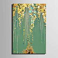 Hånd-malede Abstrakt Landskab Vertikal,Moderne Europæisk Stil Et Panel Kanvas Hang-Painted Oliemaleri For Hjem Dekoration