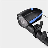 Kerékpár világítás Kerékpár első lámpa Kerékpározás Vízálló Újratölthető Kompakt méret a kürt USB Lítium akkumulátor Lumen USBTermészetes