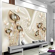 Art Deco 3D Pozadina Za kuću Suvremena Zidnih obloga , Canvas Materijal Ljepila potrebna Mural , Soba dekoracija ili zaštita za zid