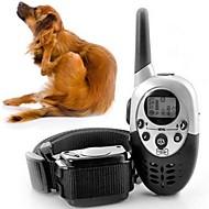 猫用品 犬用品 犬しつけようカラー 調整可能/引き込み式 バイブレーション リモコン 電子/エレクトリック しつけ用品 純色 ブラック プラスチック