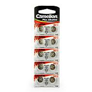 Camelion AG13 pilha alcalina botão célula moeda 1.5v 10 pack