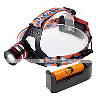 U'King Headlamps LED 1000 Lumens 3 Mode Cree XM-L T6 Yes Adjustable Focus Easy Carrying High Power for Camping/Hiking/Caving Everyday Use
