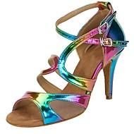 Buty do tańca-Damskie-Salsa-Personlaizowane-Obcas do wyboru-