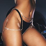Dame Kropssmykker Krops Kæde / mavekæde Venskab Mode Vintage Boheme Stil Hip-hop Håndlavet Tyrkisk Gotisk Plastik Geometrisk formGuld