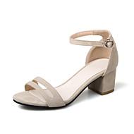 Sandaalit-Leveä korko Block Heel-Naiset-Tekonahka--Puku Rento-Comfort