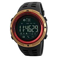 skmei 1250 menn kvinne smart armbånd / smarwatch / personlighet stor oppringt bevegelse skritt multi-funksjon vanntett for iOS