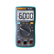 zotek zt101 דיגיטליות multimeter 6000 ספירת backlight ac / dc ammeter voltmeter ohm מטר נייד