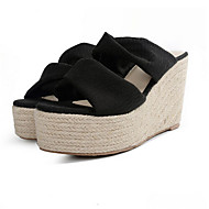 נעלי נשים&להחליק על קפיץ החורף אור סוליות משי מזדמנים