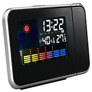 LED Electronic Clock Weather Forecast Projection Clock Alarm Clock